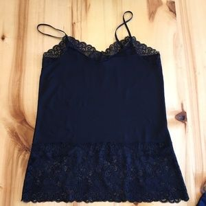 Like New! 2 Lace Trim Camis